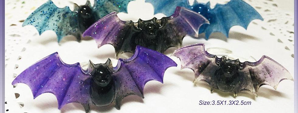 Chubby Bat Ring & Hair Pins