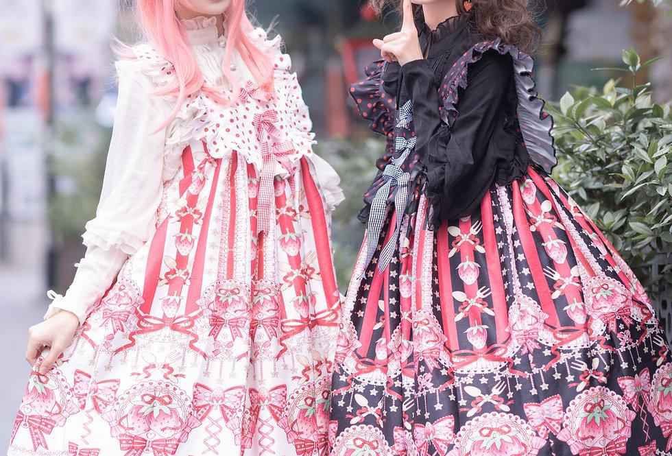 Cake & Strawberry Girl - jsk