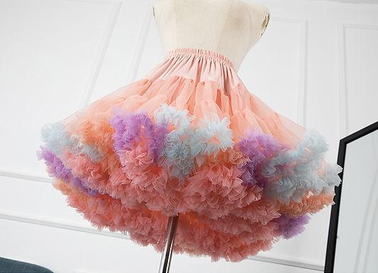 Rainbow Cloud Petticoat