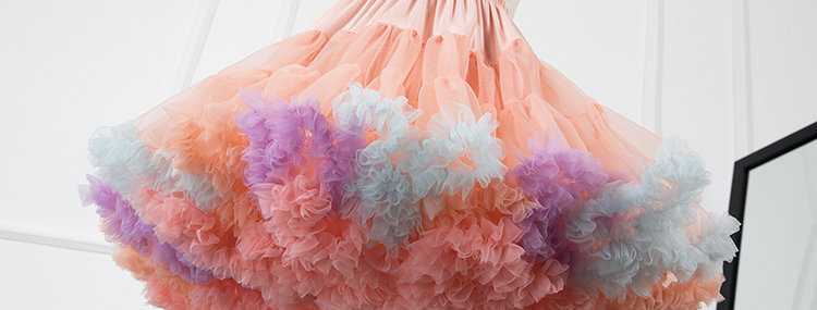 Rainbow Cloud Petticoat