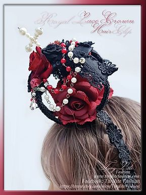 Royal Lace Crown