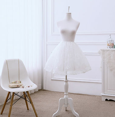 Floral Embroidery Petticoat