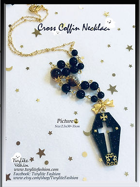 Cross Coffin Necklace