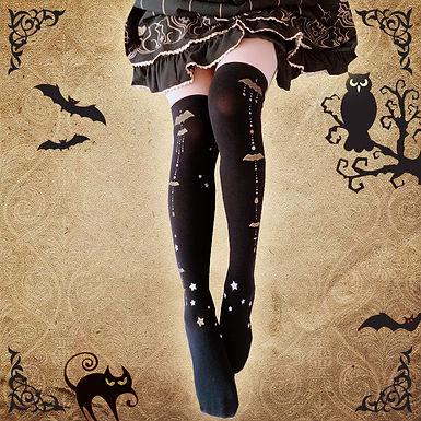 Batty Knee High Socks
