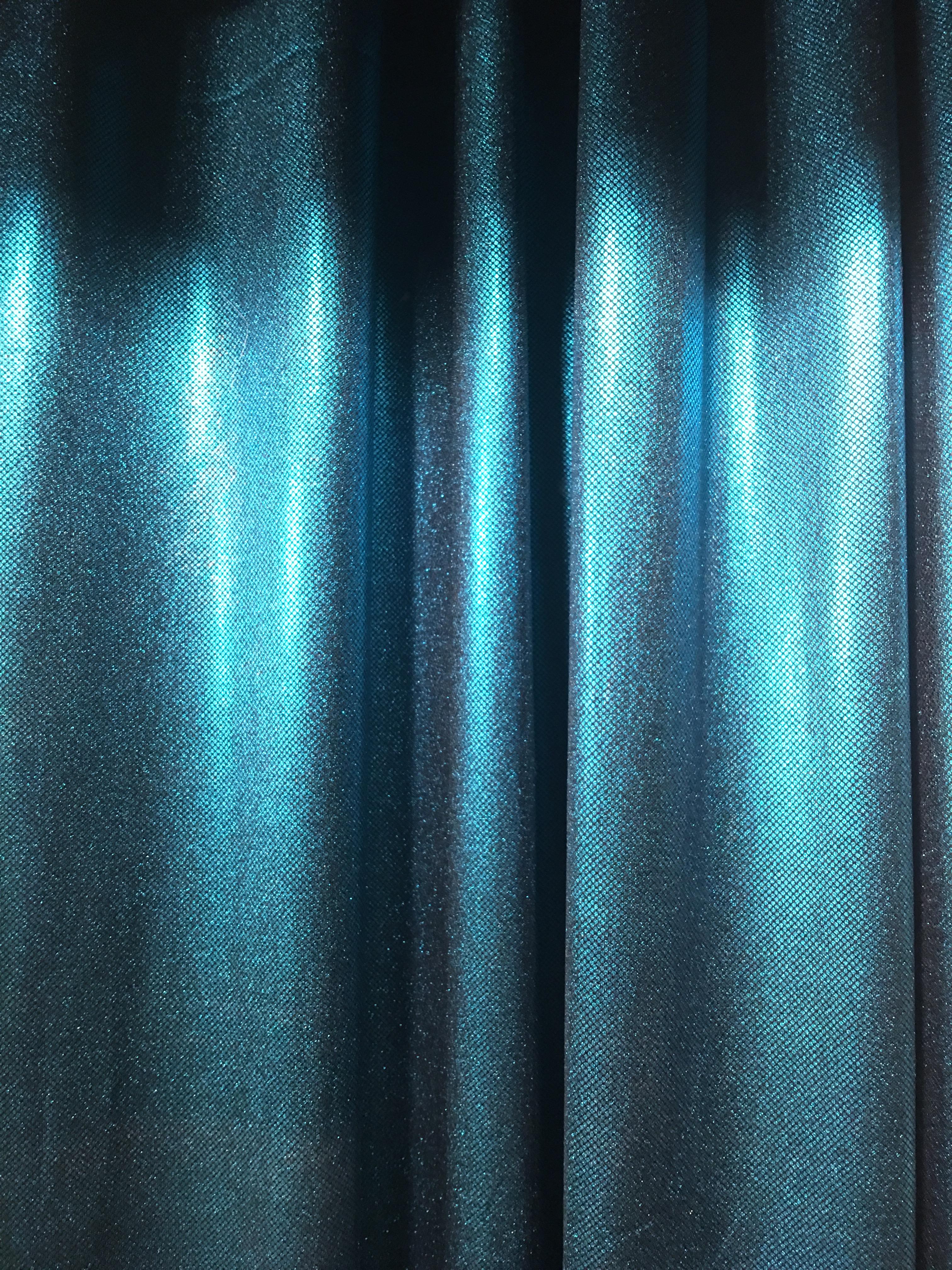 Turquoise Satin