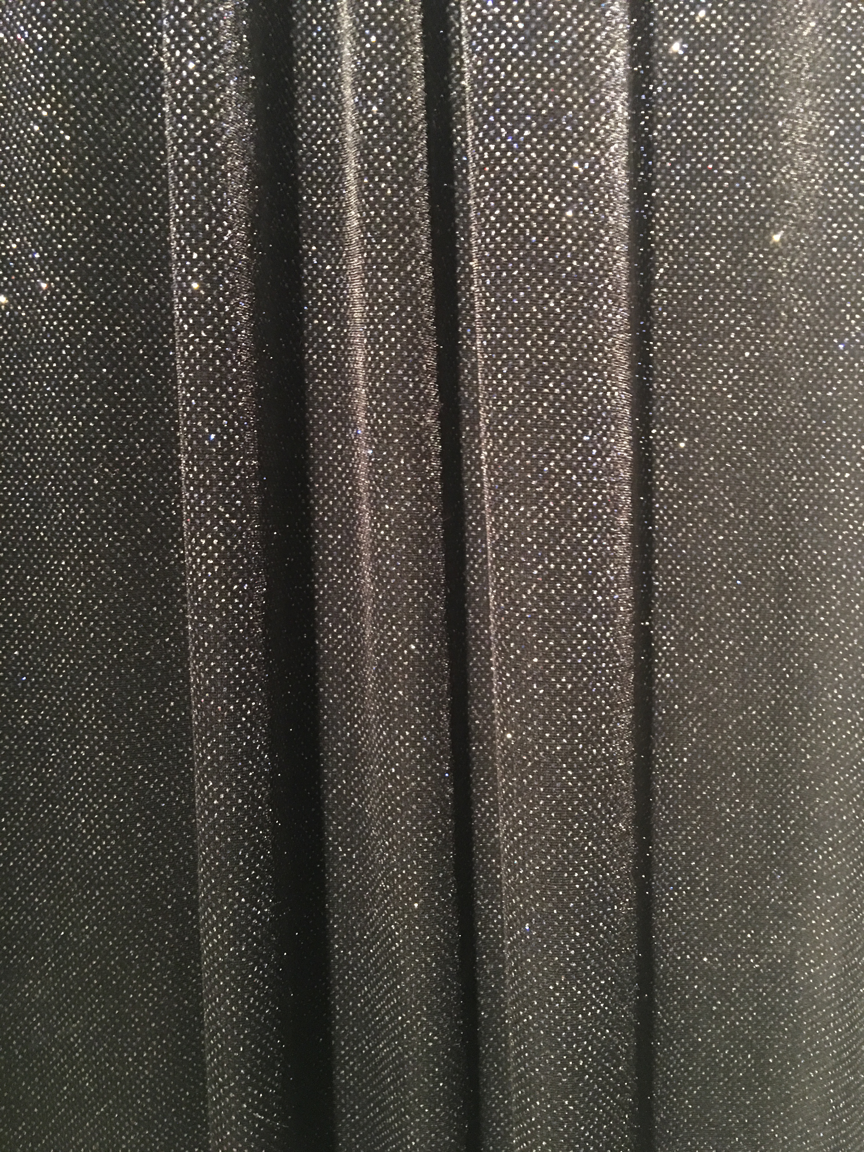 Black Small Reflective Sequin