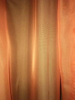 Light Orange Satin