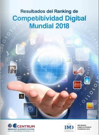 Resultados del Ranking de Competitividad Digital Mundial 2018