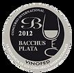 Medalha de Prata BACCHUS 2012