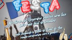 FESTA DE FINAL DE ANO DO CLUBE DE PAIS SERÁ DIA 10 DE DEZEMBRO