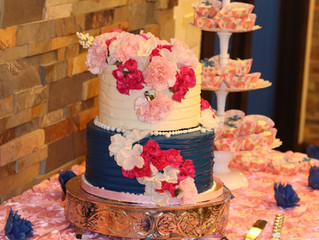 Floral-themed Graduation Party