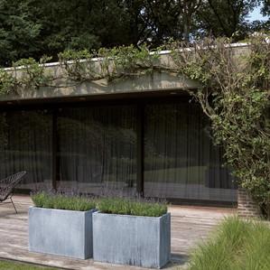Terrasse Zink rechteckig