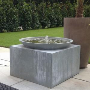 Brunnen Zink Schale