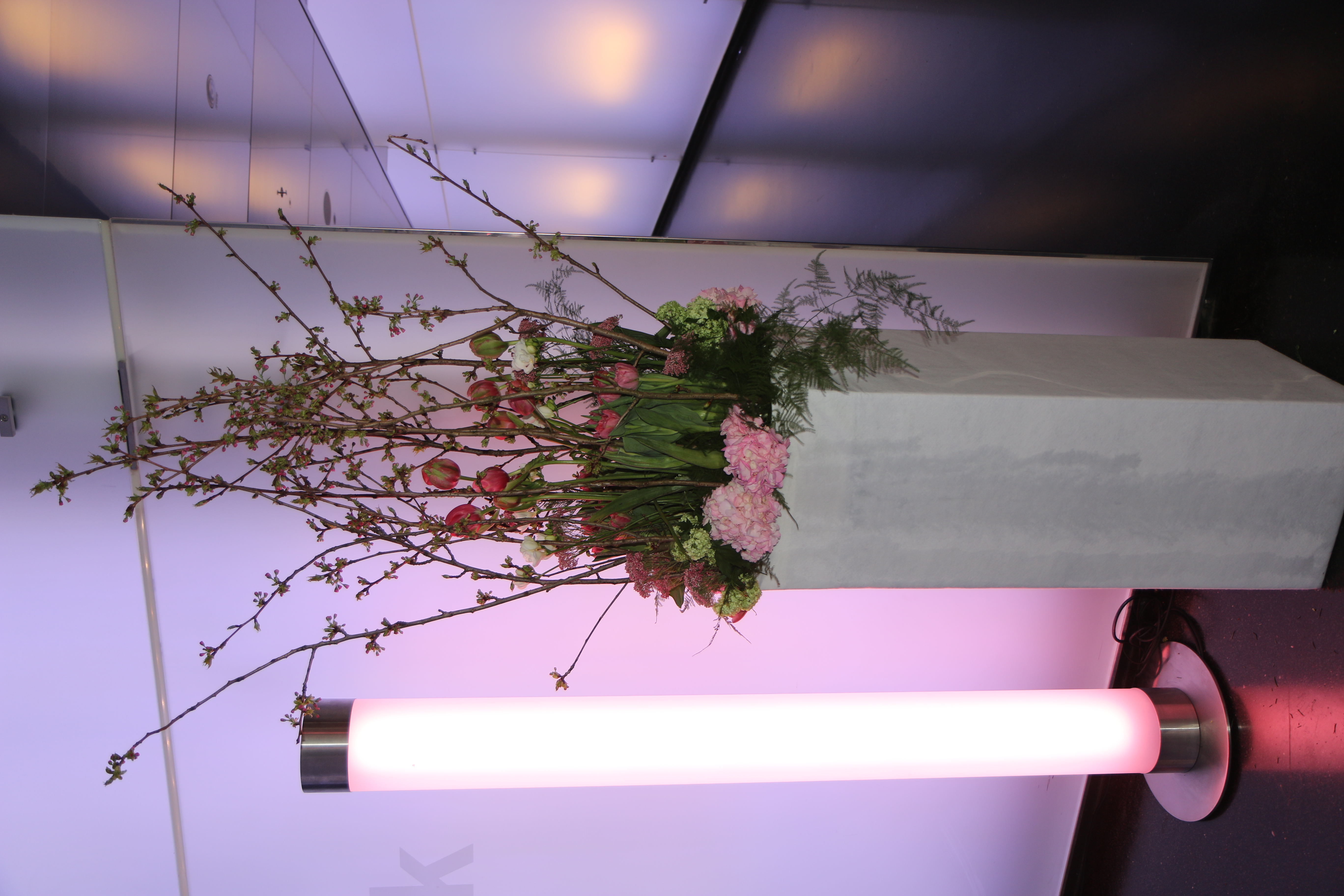 Blumen Bahlmann Event Deko Säule