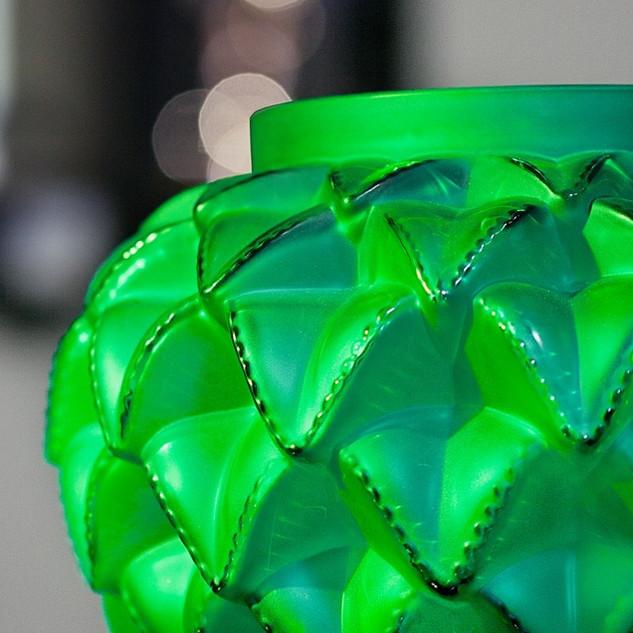 Lalique Languedoc green Bahlmann