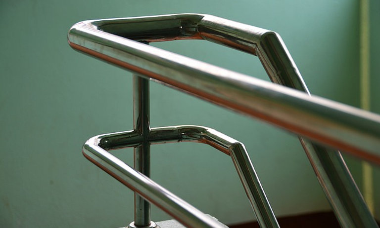 ADA compliant hand rails