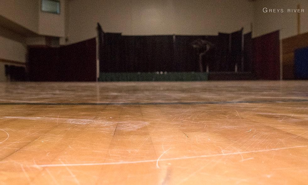 Refinish gym floor