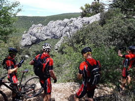 Weekend VTT en Ardèche