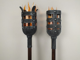 Torches from Beauty and the Beast Production