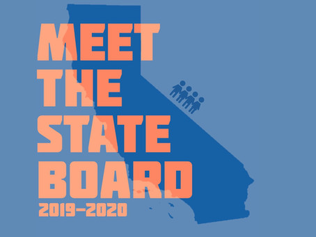 We've got a new State Board.