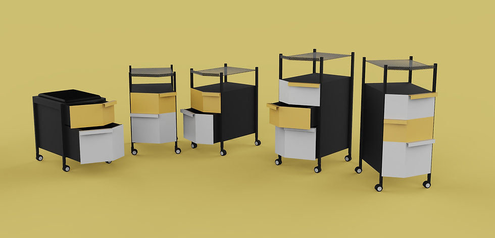 OFFICE CABINETS NO.1_by Yumeng Gai