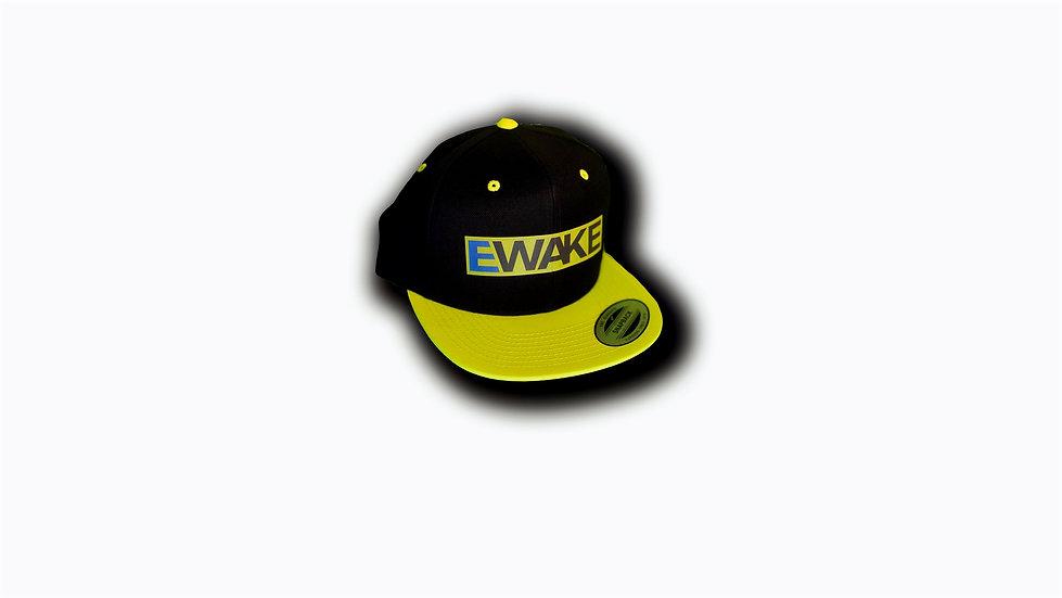 Unisex Classic Snapback 2-Tone Yellow / Blac