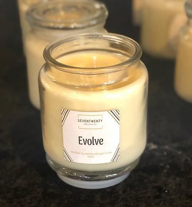 """Evolve""   Scent: Fruity Floral & Vanilla Scent"