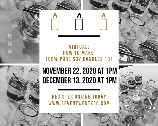 Virtual Candle Making Class
