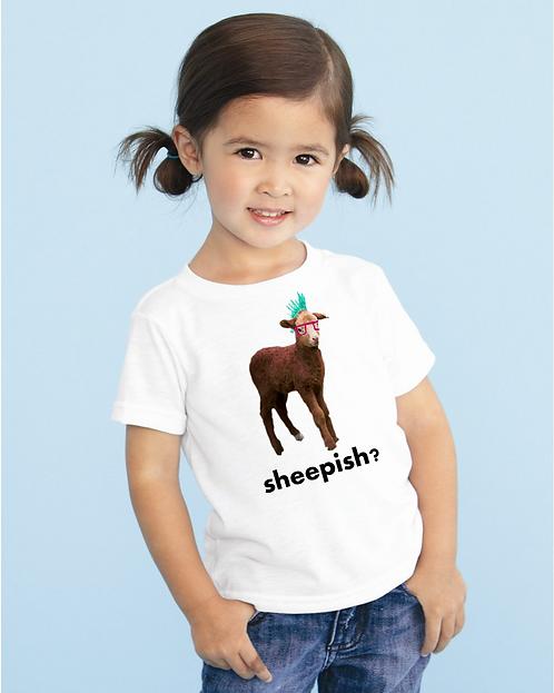 Sheepish kids tee