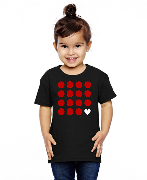 Red point kids tee
