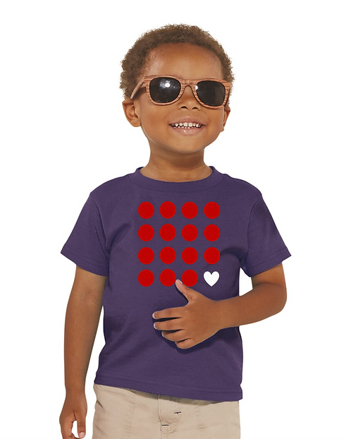Red point kids tshirt
