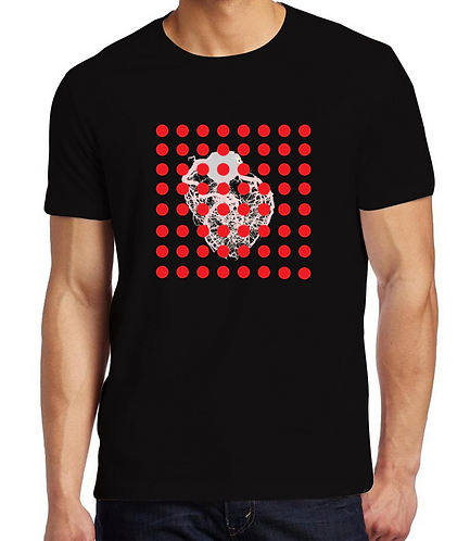 Red point men's tee