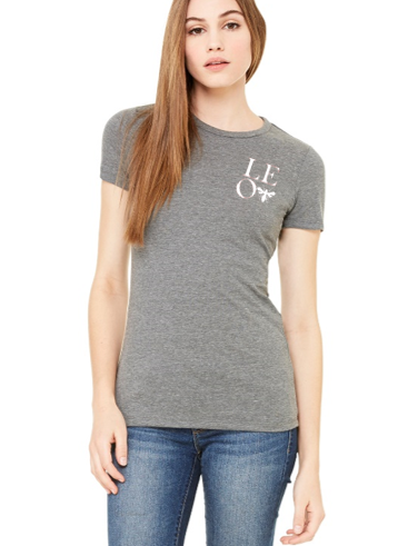L.E.O. logo women's short sleeve tee