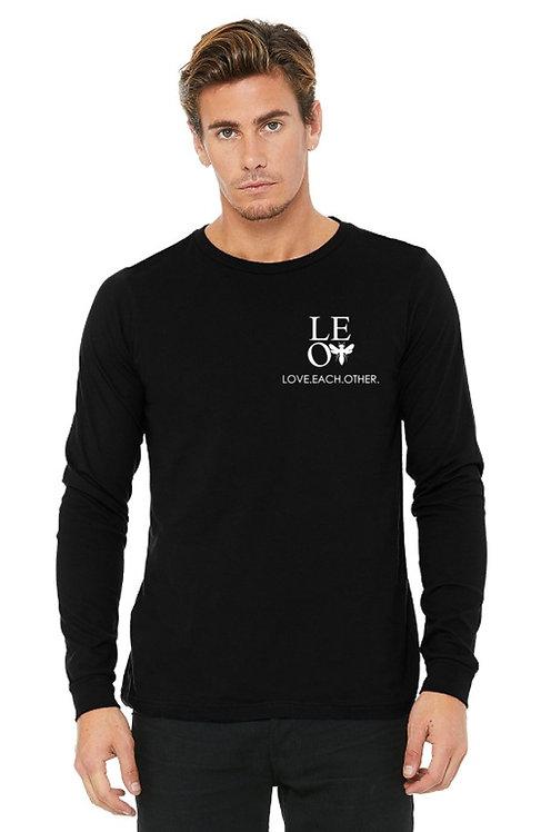 L.E.O.2 logo unisex long sleeve tee