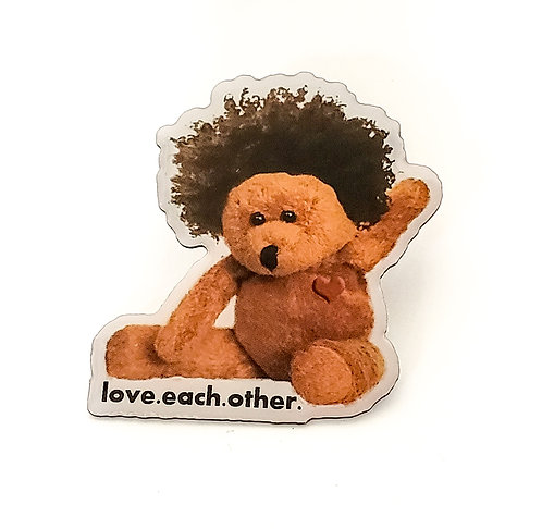 """Afroteddy 2"""" pin"""