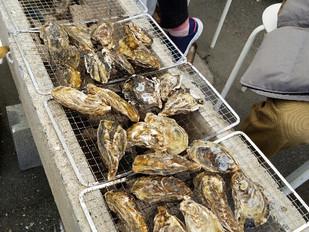 日生の牡蠣祭り