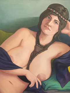 Reclining Nude (portrait of Sarah)