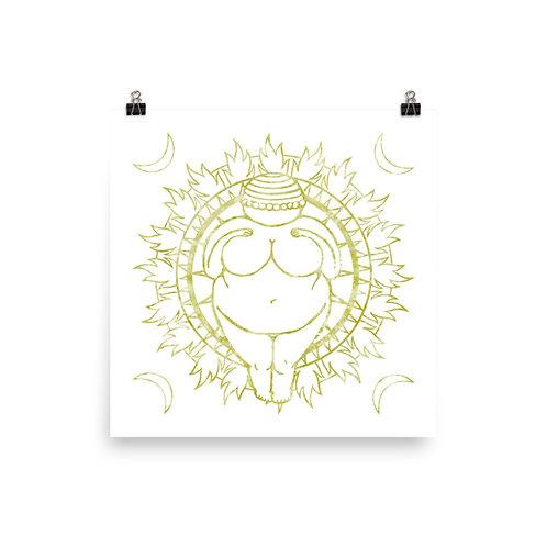 Venus of Willendorf Poster