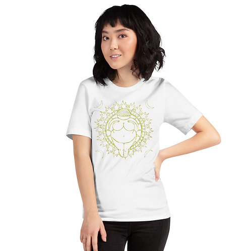 Venus of Willendorf Short-Sleeve Unisex T-Shirt