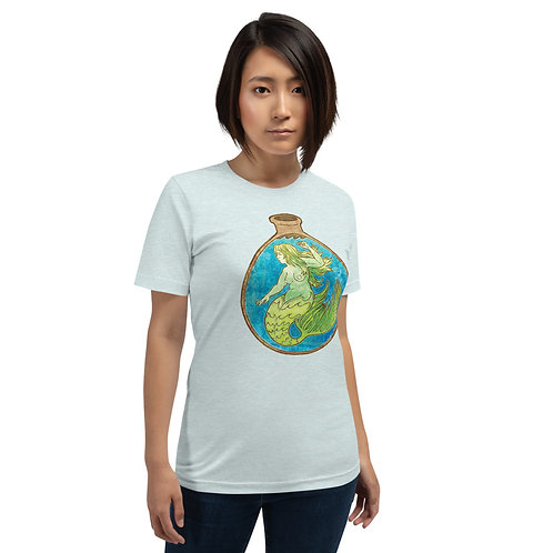 Mermaid in a Bottle Short-Sleeve Unisex T-Shirt