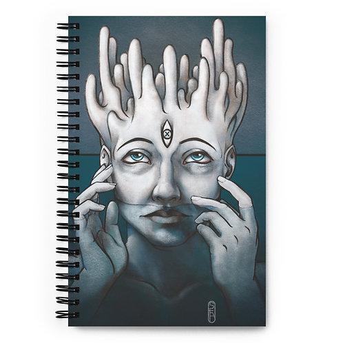Descend Spiral notebook