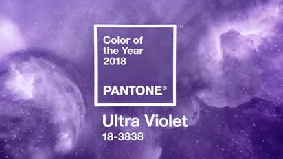 A Cor de 2018: Ultra Violet