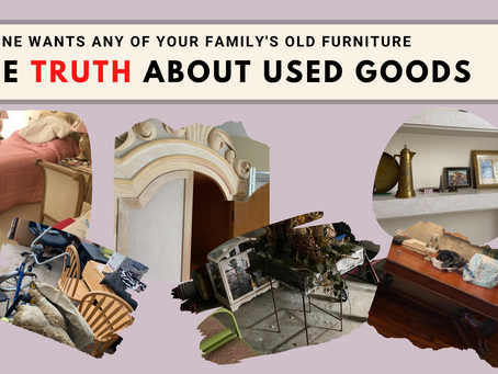 No One Wants Any of Your Family's Old Furniture: The Truth About Used Goods