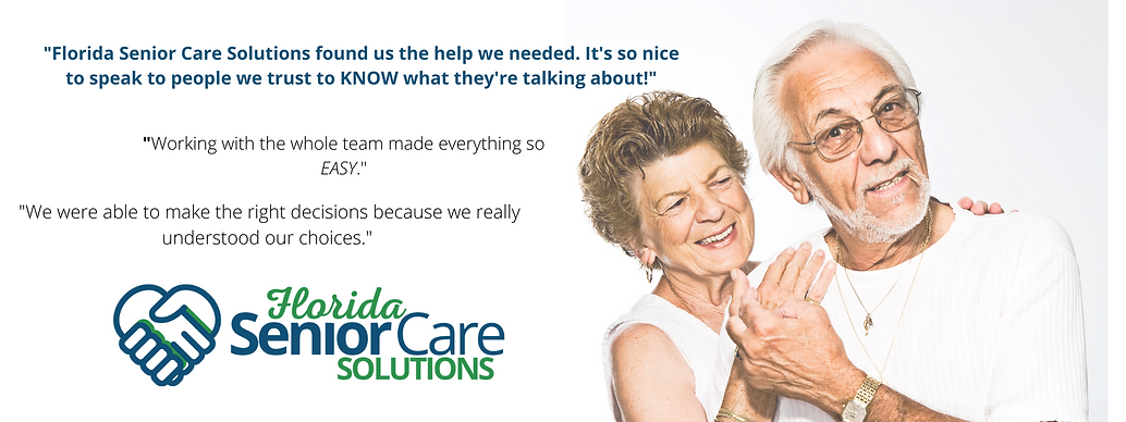 Florida Senior Care Solutions assisting seniors in Palm Beach, Broward and Miami Dade County. Our professionals help seniors with finance, real estate and health related needs.