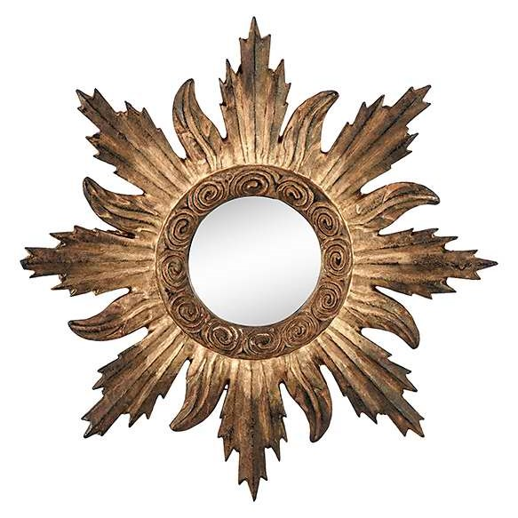 Mirror sunflair antique