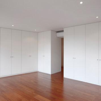 All White Matte Swing Doors