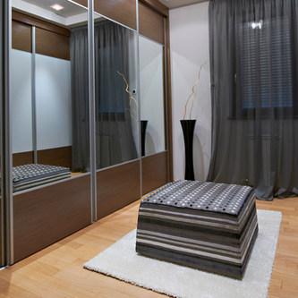 Mirror 2 Tone Slidding Doors