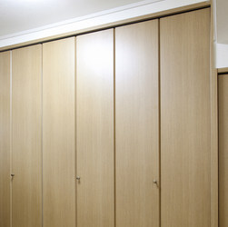 Matching Finish Closet Swing Doors