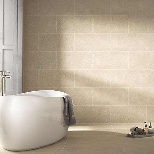 Evol Greige Grip Rectified Glazed Porcelain Wall & Floor 600x300mm