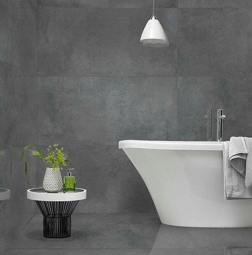 Tatton Grey Lappato Glazed Porcelain W&F 600x1200x10mm